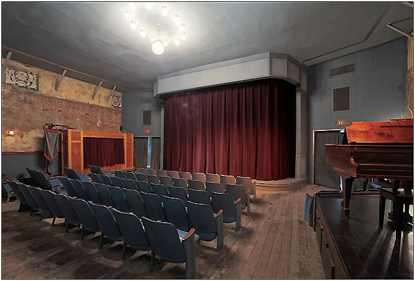 Union Theatre Interior-Velaslavasay Panorama and Gardens-Photo by Sean Teegarden