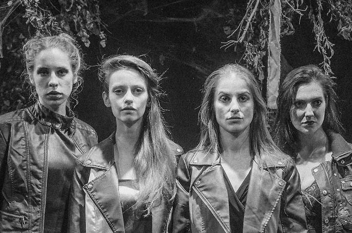 Cast of The Fairytale Lives of Russian Girls - Trap Door Theatre