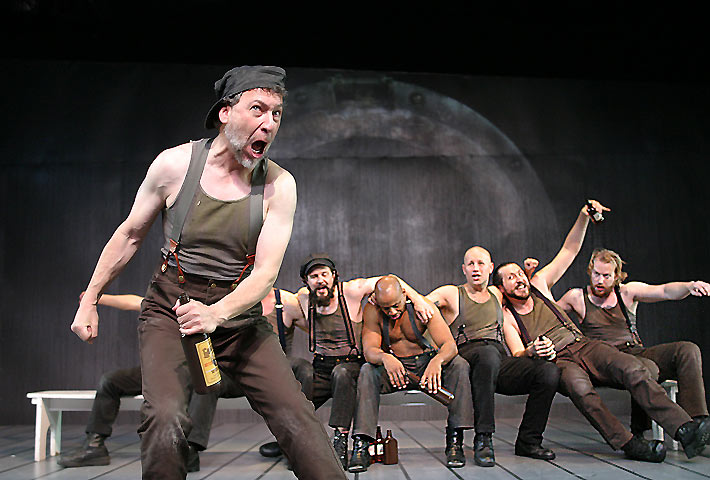 Dennis Gersten, Joseph Gilbert, Hailé D'Alan, Benjamin Davies, Anthony Rutowicz, Paul Stanko (Photo by Enci Box)