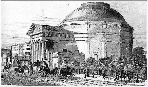 A Barker Family Panorama venue in London (circa 1792)