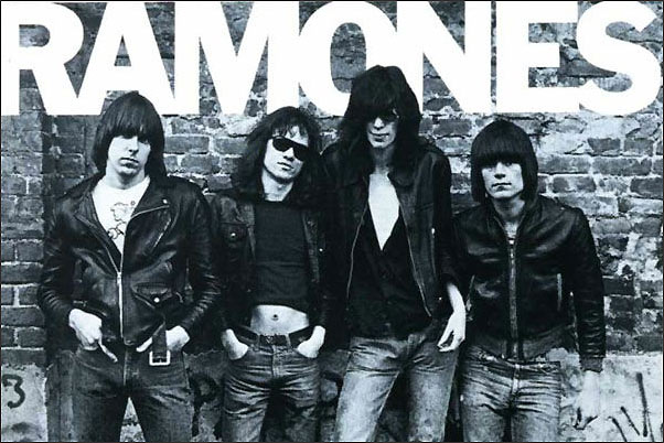 The Ramones Debut Album Cover