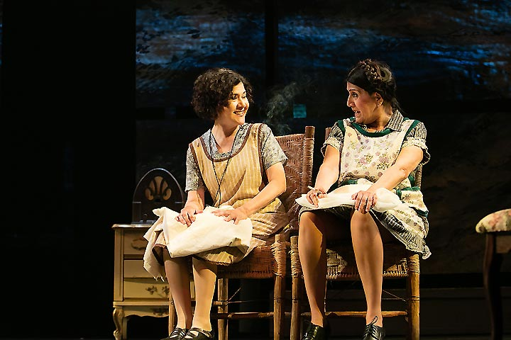Lucy Rodriguez and Evelina Fernández in 'A Mexican Trilogy'
