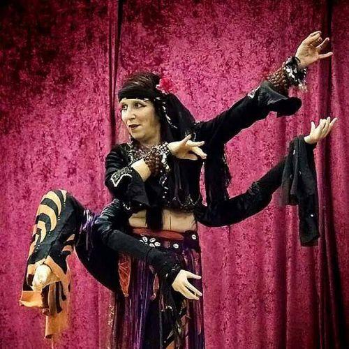 Cathryn MacEllerhan Saahira in Wizards and Fools