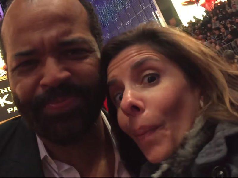 Jeffrey Wright-Lisa Pirro-Mockinjay Premiere-TVolution