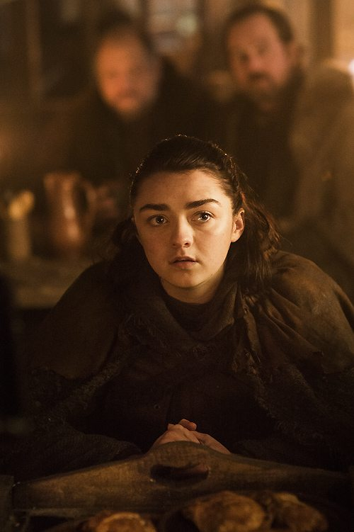 Maisie Williams (Photo by Helen Sloan - Courtesy of HBO)