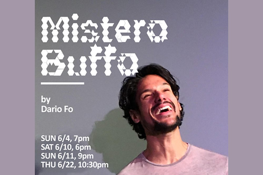 Hollywood Fringe 2017-Mistero Buffo