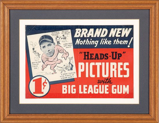 Mungo Promo Baseball Gum Card
